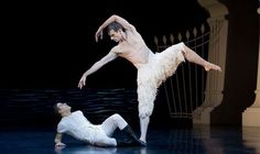 Contrary to popular myth, Matthew Bourne's Swan Lake is not an all-male production. Description from express.co.uk. I searched for this on bing.com/images