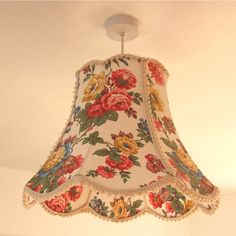 Modern Vintage Style for your home with traditionally tailored and contemporary lampshades and repurposed lighting. I Love Lamp, Modern Vintage Fashion, Mavis, Lamp Shades, Vintage Floral, Shabby Chic, Room Decor, Lights, Contemporary