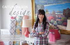 Interior and Textile Designer Caitlin Wilson #theeverygirl