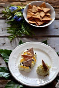 Dessert di ricotta con chips di cannoli http://www.zagaraecedro.ifood.it/2016/10/dessert-di-ricotta-e-chips-di-cannoli.html