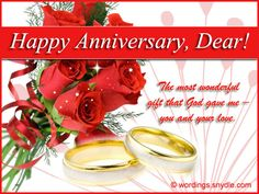 Wedding Anniversary Messages for Wife | Wordings and Messages