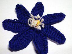 Ravelry: Anemone Hepatica Crochet Pattern pattern by Camelia Shanahan