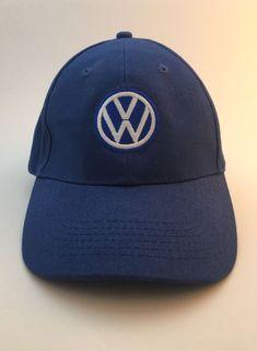 d5464723cf1 VW Volkswagen Santa Monica Hat Cap Blue One Size Fits All Dads Hat
