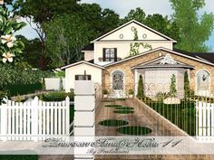 American Family Home 11 by Pralinesims - Sims 3 Downloads CC Caboodle  Check more at http://customcontentcaboodle.com/american-family-home-11-by-pralinesims/
