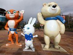 Sochi 2014 Mascots | Olympic Photo