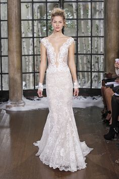 Madrid   Ines Di Santo Perfection this is so a dream dress. The only way I will wear white