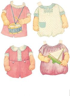 Miss Missy Paper Dolls: Baby Brother 1929 Date:1929 Publisher: Whitman Artist:Queen Holden