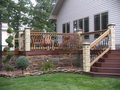 Small Deck Ideas - Deck skirting does not only play role in keeping out animals from breeding beneath deck but also enhance beautiful and attractive decorating into deck