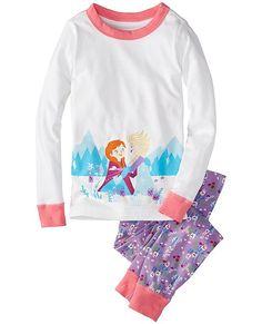Disney Frozen Long John Pajamas In Organic Cotton | Boys Sleepwear