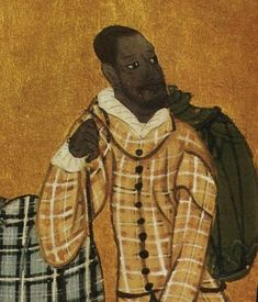 At link: several contemporaneous Japanese images of Moorish Portugese Sailors in 1542 A.D