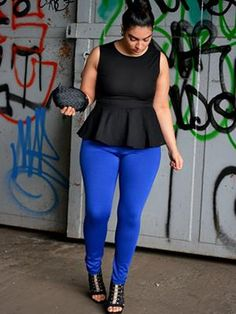Plus-size outfit
