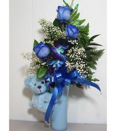 "Baby Boy Bouquet  Baby Boy Bouquet  15""x 11"""