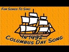 : Tuesday Teacher Tips: Columbus Day Resources, Videos, Books and Freebies! Kindergarten Social Studies, Social Studies Activities, Teaching Social Studies, In Kindergarten, School Holiday Activities, Classroom Activities, Classroom Ideas, Autism Classroom, Fun Songs To Sing