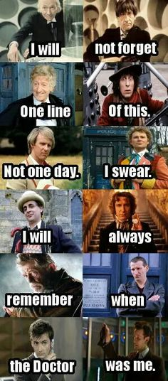 Elevens last words Doctor Who Funny, Bbc Doctor Who, Doctor Who Quotes, Original Doctor Who, Doctor Who Poster, The Great Doctor, Skulduggery Pleasant, Doctor Who Episodes, Music X