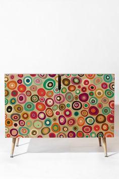 Sharon Turner freckle spot Credenza | DENY Designs Home Accessories #credenza #spot #denydesigns #sharonturner