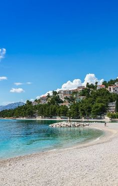 Hotel Croatia **** | Baska Voda, Croacia  #viajes #viajar #destinos #playa #hoteldeplaya #beach #beachhotel #vista #croacia Beach Hotels, Croatia, Destinations, Traveling