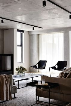 Are you looking for some living room accessories to complete your room? You got everything in the living room but always need accessories to change the ambiance Home Design, Home Interior Design, Interior Architecture, Design Ideas, Condo Design, Living Room Spotlights, Track Lights Living Room, Living Room Interior, Living Room Decor