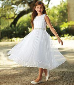 sparkle tulle flower girl dress - Chasing Fireflies
