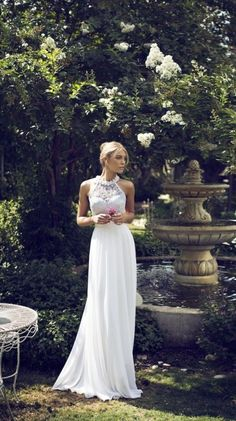 Oh so dreamy wedding dress via Bridal Musings Wedding Blog