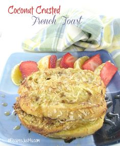 just 4u coconut crusted french toast coconut crusted french toast ...