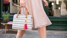 Tee trendikäs tupsu joustavasta Fimo Leather Effect -massasta. Kate Spade, Tees, Leather, Fashion, Fimo, Moda, T Shirts, Tee Shirts, Fashion Styles