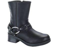 Harley-Davidson footwear women's Christa fashion motorcycle boots
