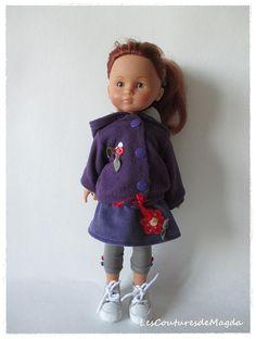 Tenue pour poupée 13 Little Darling Effner par LesCouturesdeMagda