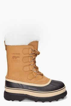 I need some of these snow boots (for when I move to Alaska.. or Ireland  )