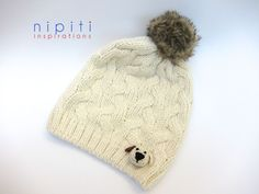 Puppy Hat - Nipiti Bonbons - Applique 3D
