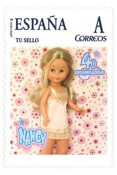 Sello correos Nancy