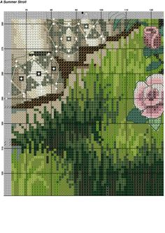 Летняя прогулка Counted Cross Stitch Patterns, Cross Stitch Designs, Beaded Embroidery, Hand Embroidery, Cross Stitch Kitchen, Cross Stitch Pictures, Cross Stitch Flowers, Plastic Canvas Patterns, Cross Stitching