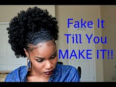 Afro Ponytail Hairstyles - Are you keen on the fashionable hairstyles of today? Natural Hair Ponytail, Afro Ponytail, Natural Afro Hairstyles, Natural Hair Tips, Natural Hair Journey, Black Hairstyles, Simple Hairstyles, Ladies Hairstyles, Stylish Hairstyles