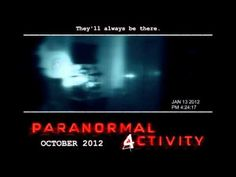 Paranormal Activity 4!!! Can't wait!!!!