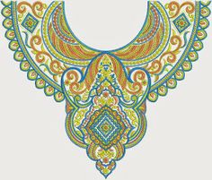 New Arrival Embroidery Neck Designs - Embdesigntube