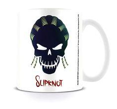 Suicide Squad Mug Slipknot Skull DC Comics White boxed - Paradiso Clothing