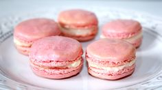 Elly's Art: Macarons mit Vanille-Kokos-Füllung