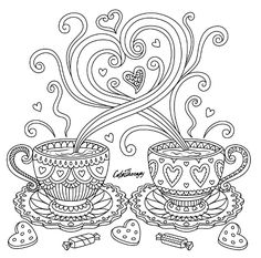 Here are the Popular Hot Chocolate Coloring Pages. This post about Popular Hot Chocolate Coloring Pages was posted under the Coloring Pages . Heart Coloring Pages, Colouring Pages, Printable Coloring Pages, Adult Coloring Pages, Coloring Sheets, Coloring Books, Zentangle Patterns, Embroidery Patterns, Dibujos Zentangle Art