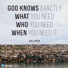 God knows..