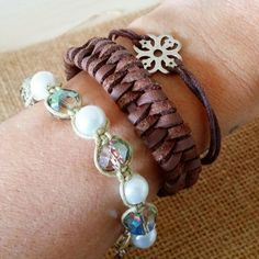 Check out this item in my Etsy shop https://www.etsy.com/listing/231395687/set-of-3-bracelets