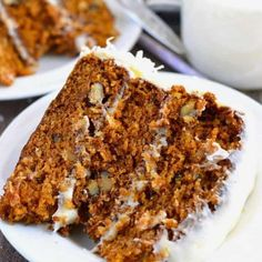8 Cuban Mojo Marinated Pork Recipes Packed With Flavour Gluten Free Carrot Cake, Gluten Free Deserts, Healthy Carrot Cakes, Gluten Free Sweets, Gluten Free Cakes, Foods With Gluten, Gluten Free Cooking, Dairy Free Recipes, Dessert Sans Gluten
