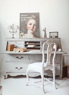 Gustavian style study   Gustav Interiors, the Netherlands