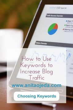 How to Use Keywords to Increase Your Organic Traffic - Anita Ojeda How To Introduce Yourself, Improve Yourself, Identity In Christ, I Want To Work, News Blog, Writing Tips, Being Used, Seo Keywords, Told You So