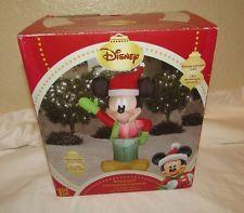 Holiday Greeter Mickey Wreath Gemmy Disney Christmas Pinterest