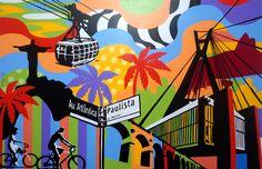 RIO e SP | LOBO | POP ART | Lobo | Pop Art