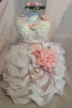 Shabby Chic Dress form - Scrapbook.com