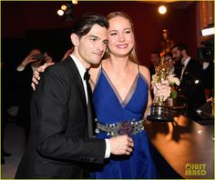 Brie Larson Kisses Boyfriend Alex Greenwald Backstage at Oscars 2016: Photo #3594226. Brie Larson plants a kiss on her boyfriend, musician Alex Greenwald, backstage at the 2016 Academy Awards held at the Dolby Theatre on Sunday (February 28) in Hollywood.…