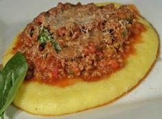 Italian Style Beef with Polenta