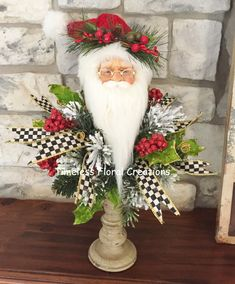 Timeless Floral Boutique – Decorating with Personality Christmas Swags, Christmas Candles, Christmas Love, Country Christmas, Winter Christmas, Christmas Ideas, Royal Christmas, Whimsical Christmas, Christmas Flowers