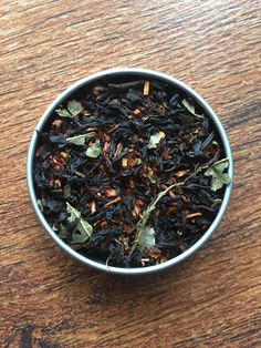 Scorpio Tea - Zodiac Tea - Loose Leaf Tea - Custom Tea Blend - Rooibos Tea - Black Tea - Pomegranate Tea - Vanilla Tea - Clove Tea