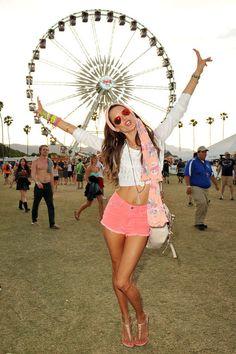 Coachella style!!! #GettinDownAtCoachella